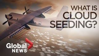 How cloud seeding makes it rain artificially