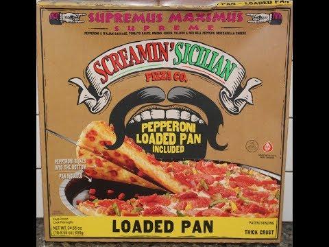 Screamin' Sicilian Pizza Co. Supremus Maximus Loaded Pan Pizza Review