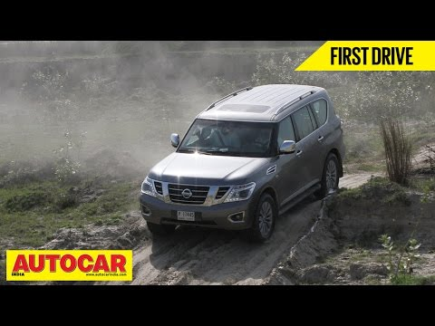 Nissan Patrol | First Drive Video Review | Autocar India
