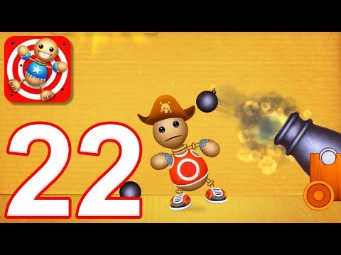 Kick the Buddy - Gameplay Walkthrough Part 22 - All Firearms Weapons (iOS)