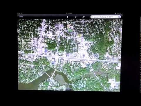 iOS 6 Maps alternative App, Google Earth for iPad / iPhone / iPod Touch 4th Gen