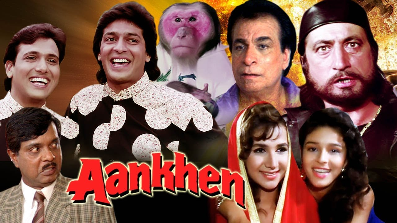 Download Aankhen Full Movie in HD   Govinda Hindi Comedy Movie   Chunky Pandey   Bollywood Comedy Movie MP3 Gratis