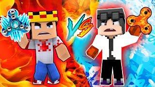 Minecraft: HELLO NEIGHBOR - FIDGET SPINNER DE GELO VS SPINNER DE FOGO