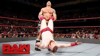 Cesaro vs. Sheamus - Best of Seven Series Match No. 5: Raw, Sept. 12, 2016