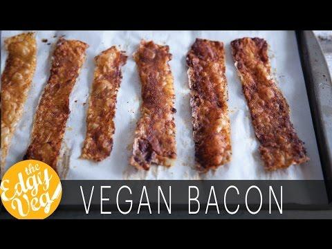 Vegan Recipe: Make Vegan Bacon Using Rice Paper | The Edgy veg