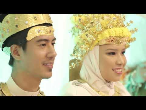 Majlis Berbedak Brunei_Rifaie & Ima - Rajaie & Eza