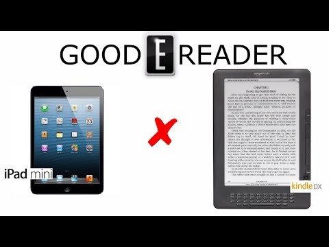 Apple iPad Mini 2 vs Amazon Kindle DX