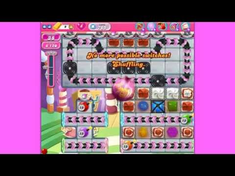 Candy Crush Saga level 765  no boosters