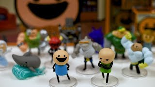 Mini Figures Now Available - Cyanide & Happiness Announcement