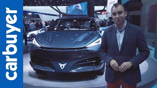 A look at the electric Cupra Tavascan concept - Frankfurt Motor Show - Carbuyer