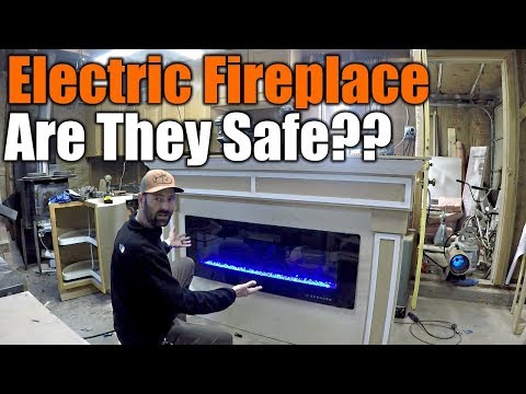 Custom Electric Fireplace Will Blow Your Mind | THE HANDYMAN |