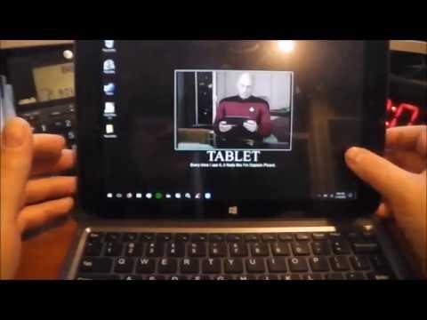 Windows 10 on a $100 tablet