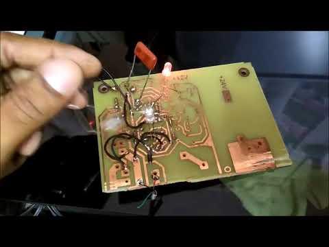 Testing LM567 IR Proximity Detector Circuit