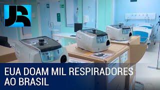 Ministério da Saúde se prepara para redistribuir a estados doação de respiradores feita pelos EUA