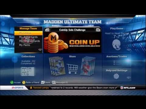 How To Make Coins Fast In Madden 13 Ultimate Team