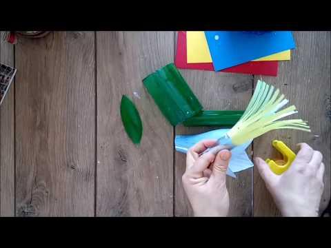 Reuse idea Snowdrop from Plastic Bottle Sikart/DIY