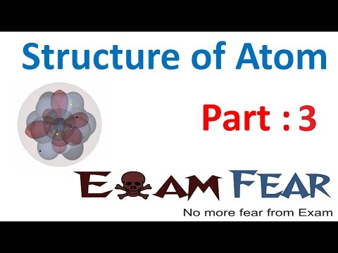 Chemistry Structure of Atom part 3 (Rutherford Model) CBSE class 9 IX
