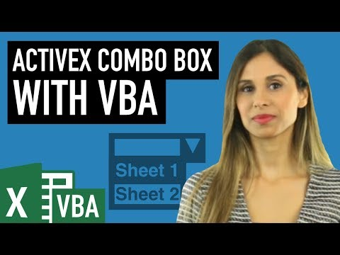 Excel ActiveX Combo Box to Select Worksheets with VBA