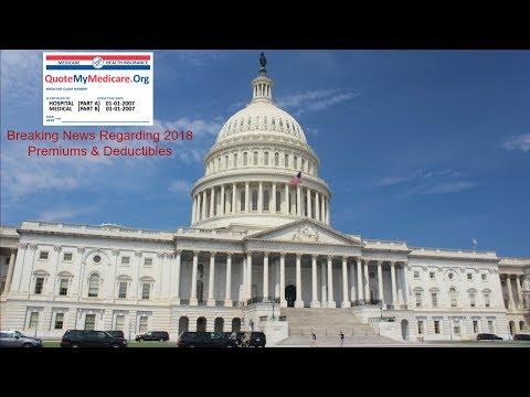2018 Medicare Premiums & Deductibles Just Released