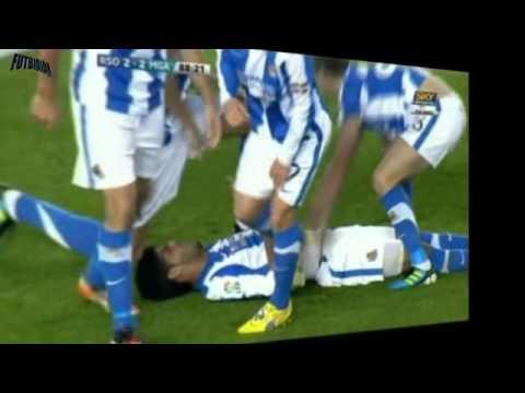 Gol de chilena de Carlos Vela - Real Sociedad vs Málaga 3-2 Fecha 15 La Liga BBVA 2011-2012