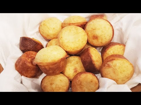 Pão de queijo - Brazilian cheese bread - Step by step video