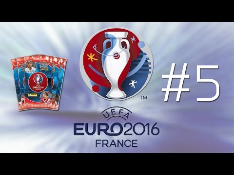 UEFA EURO 2016 | TRADING CARDS COLLECTION BOOK - Ep5 - SHINY CARDS ALL ROUND!!