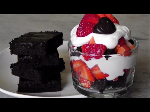 Namaste Brownie Review & Trifle Recipe (Giveaway)
