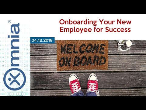 Onboarding Your New Employee for Success