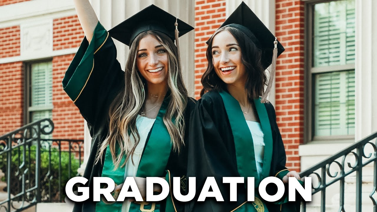 College Graduation Vlog | We're DONE with School!