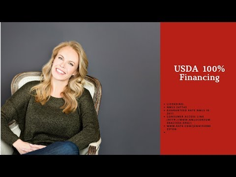 USDA Home Loan 100% Financing