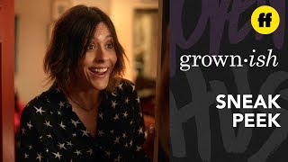 grown-ish Season 2, Episode 15 | Sneak Peek: Nomi Interrupts Professor Hewson's Party | Freeform