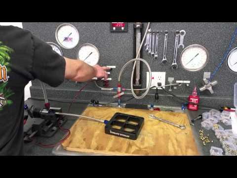 Flow Testing the NX Single Entry Crossbar Nitrous Plate