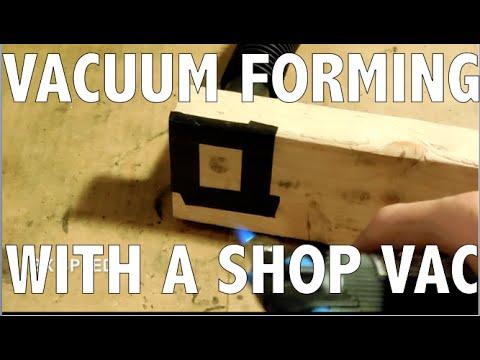VACUUM FORMING at Home!