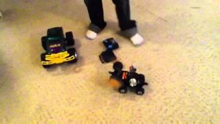Homemade RC Battle Robot