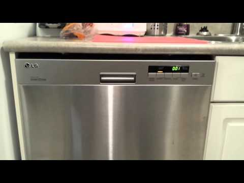 LG LDS4921ST Dishwasher Review