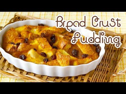Bread Crust Pudding (Leftover Bread Crusts Recipe) パン耳の余りで♪ パンプディング - OCHIKERON - CREATE EAT HAPPY