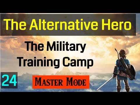 024 Master Mode Breath of the Wild Combat at the Military Training Camp