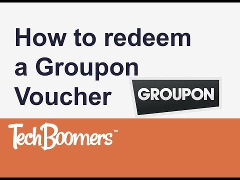 How to Redeem a Groupon Voucher