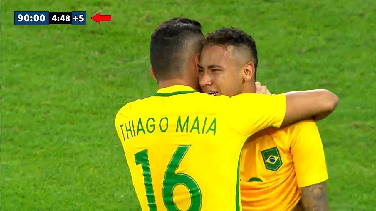 Most Dramatic Last Minute Goals İn Football   Neymar, Götze