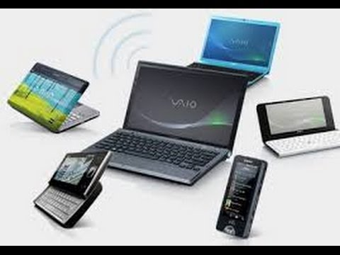 How to make Laptop a Portable WiFi Hotspot in Windows 7 | Windows 8 | Windows Xp