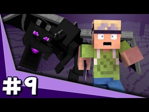 Minecraft PS3 - Ender Dragon Battle (Part 9)