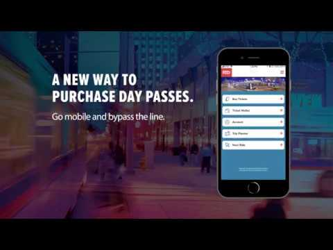 Mobile Ticketing App for RTD Bus & Rail