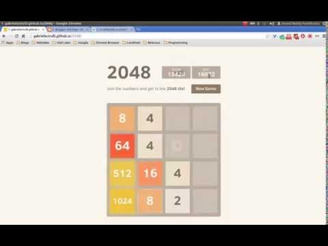 2048 Game Walkthrough - How To Beat Addictive Game & Make 2048 Tile!