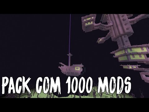 PACK COM MAIS DE 1000 MODS COM SKINS E MUITO MAIS (MINECRAFT PE) 0.16.0