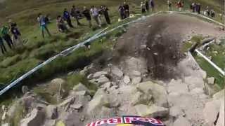 Trek World Racing Dh || Aaron Gwin Training Run Fort William