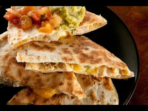 Cooking in the Wong House - Chicken quesadillas