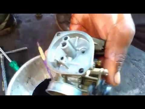 How to  clean the CARBURETOR Of SPLENDER+  bike..!