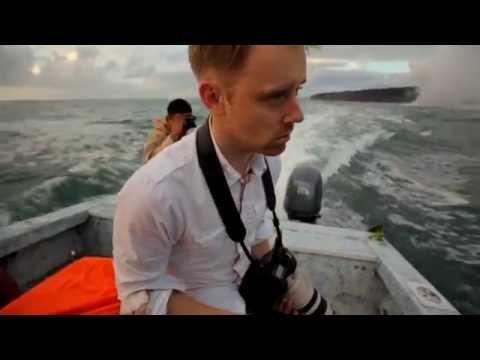 Seasick on Fishing Boat