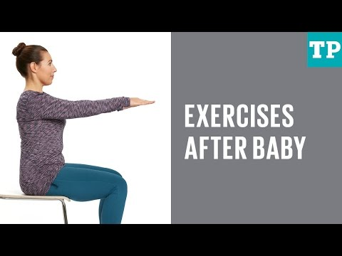 Exercises for first six weeks after baby