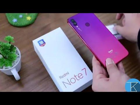 Redmi Note 7 - Unboxing + Overview - 48 MP Camera 😱😱   Techno Buzzer